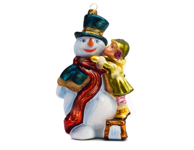 Figurine de noël bonhomme de neige...