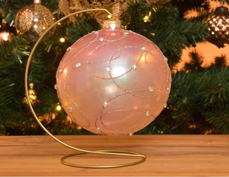 Boule de Noël Shabby Chic avec...