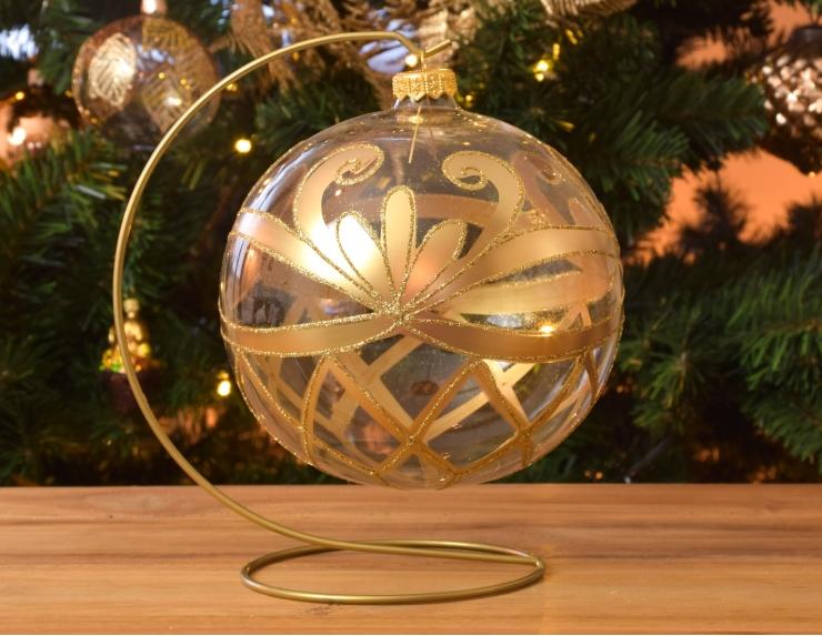 Grande boule de Noël baroque...