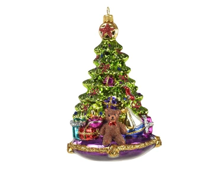 Figurine sapin de Noël avec cadeaux...