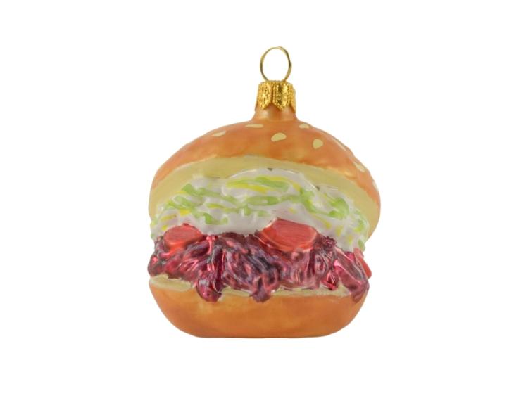 boule de noël hamburger