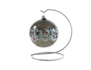 Plus adapté Boules de Noël en verre soufflé et peintes à la main ZQ-56