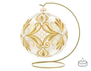Boule de Noël photophore en...