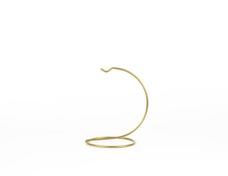 Support pour boule de Noël doré ø 8 cm