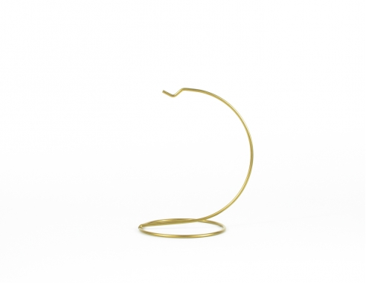 Support pour boule de Noël doré ø 10 cm