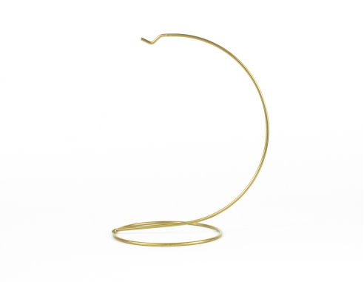 Support pour boule de Noël doré ø 15 cm