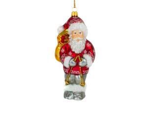 Suspension Figurine Père-Noël nordique