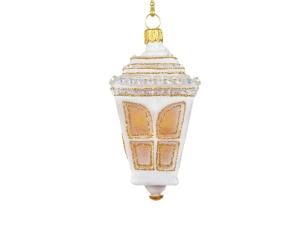 Figurine lanterne pour sapin de Noël